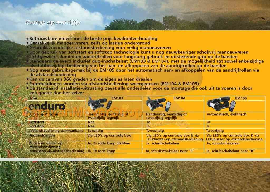 enduro brochure